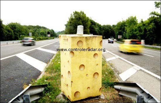 speed camera in the swiss alps