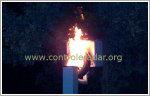 burning gatso