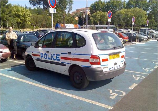 police et handicap