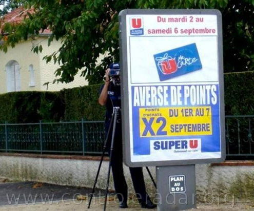 averse de points