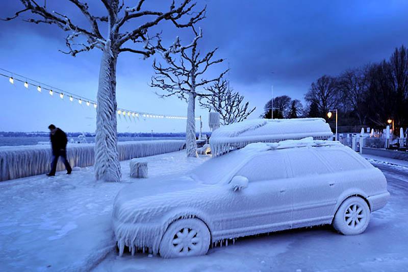 gel de voiture