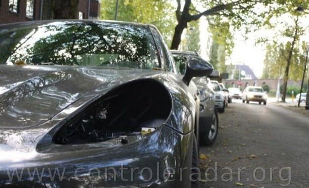 Les phares de Porsche sont volés aux Pays-Bas
