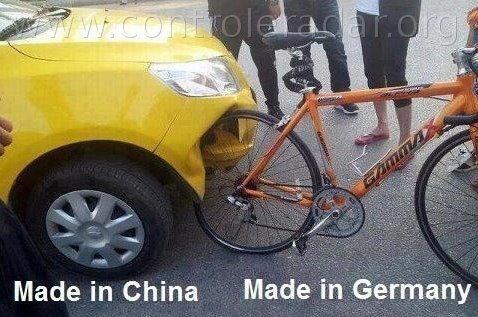 la qualité des produits allemands contre les produits chinois