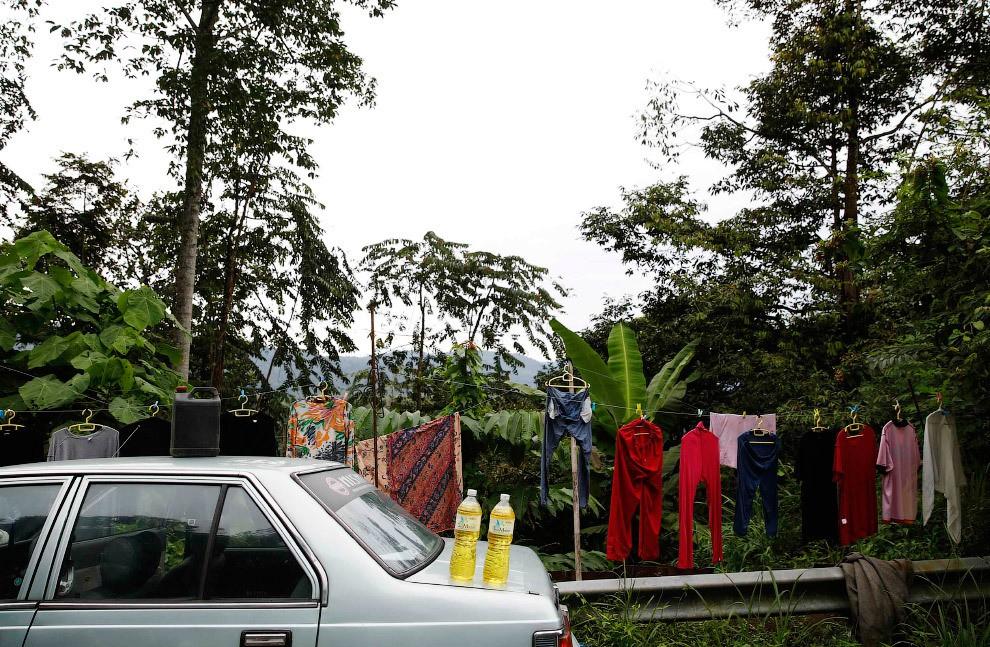 station service en Malaisie