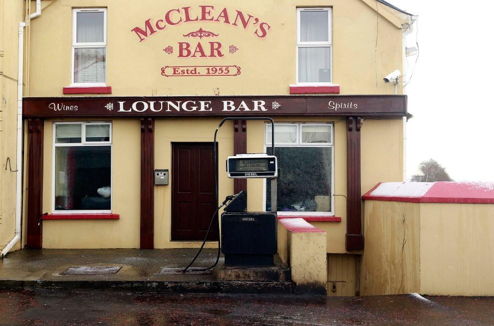 station service en Irlande