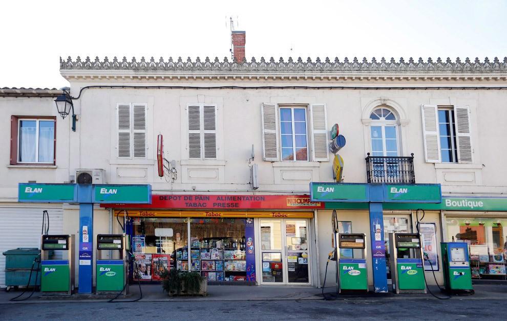station service en France