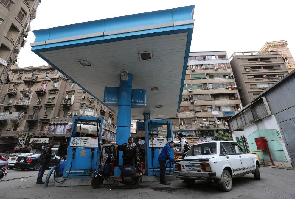 station service en Egypte