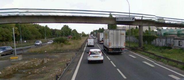 Suicide sur autoroute