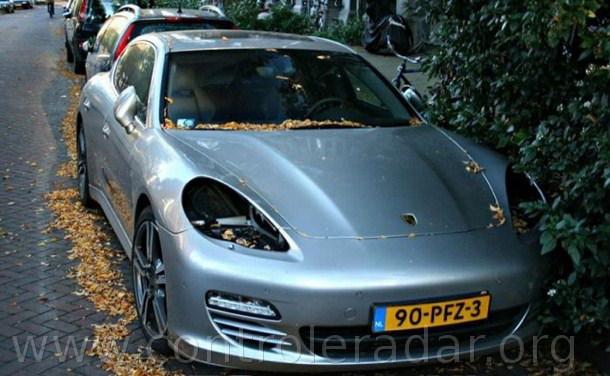 Vol de Porsche