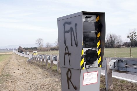 radar recouvert de tag
