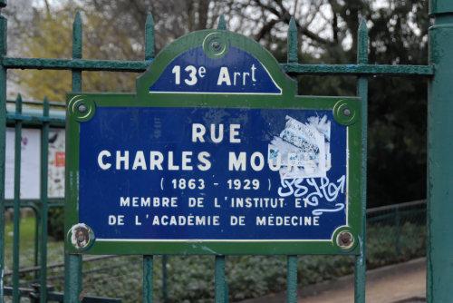 rue Charles Moureu