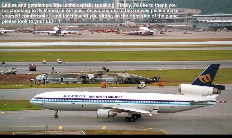 accident en chine mandarin airlines