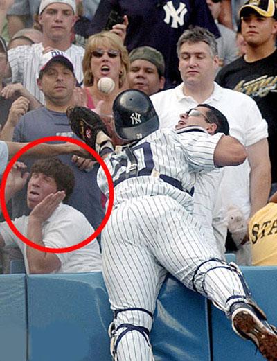 baseball peur