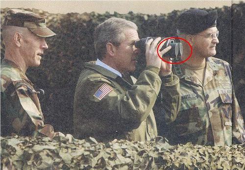 le président américain est aveugle